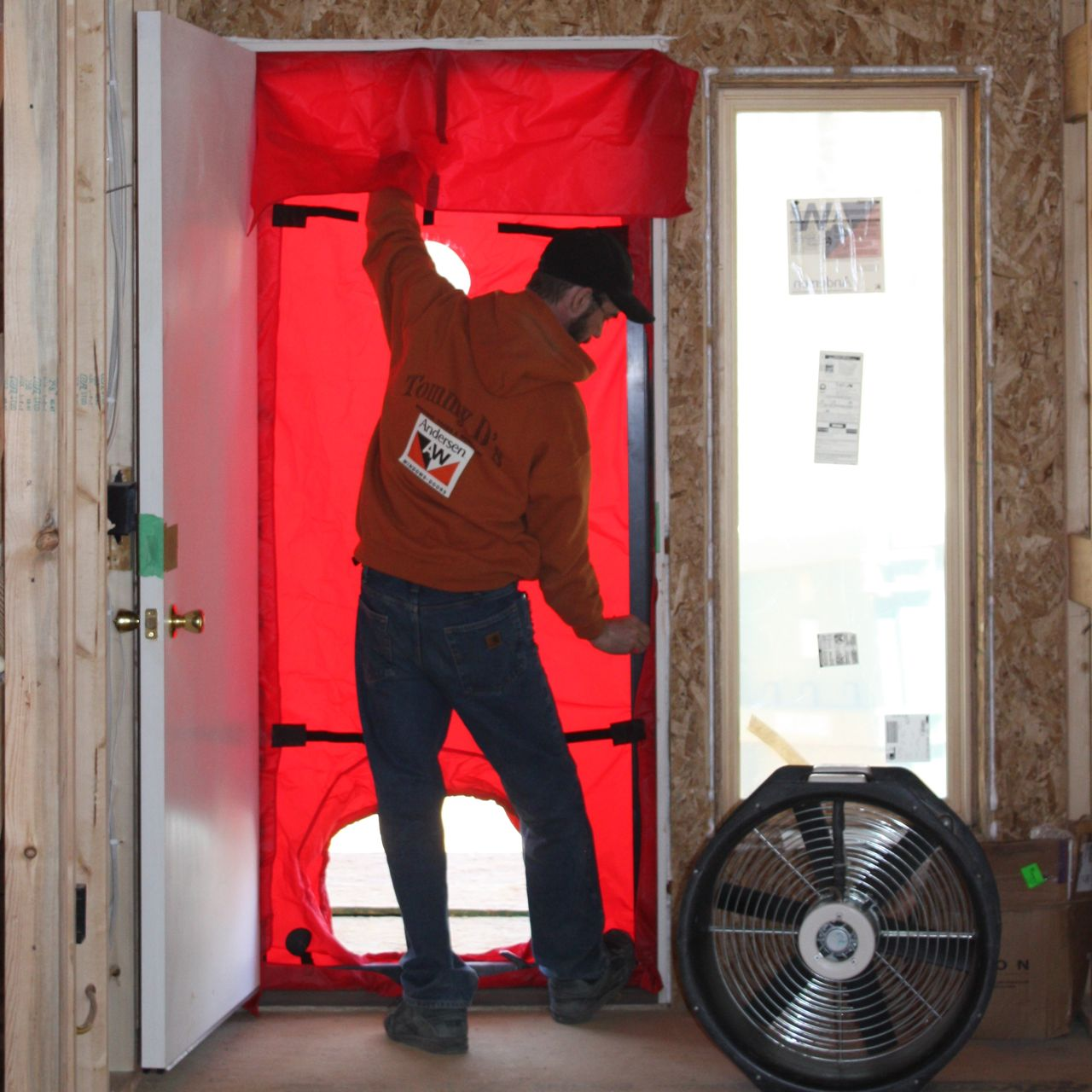 blower door testing services in sherrill new york. Black Bedroom Furniture Sets. Home Design Ideas