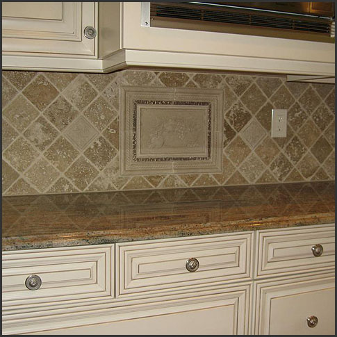 venice florida ceramic tile backsplash installation and