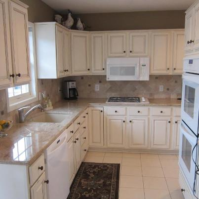 Refinishing Cabinets Luckys Contractors