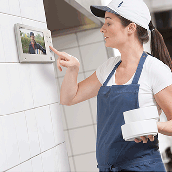 Video Intercom Installation - Home Security Professionals - Okoboji, Iowa
